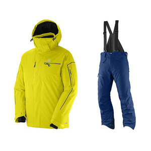 BRILLANT JK (LIGHT ALPHA YELLOW) + CHILL OUT BIB PT (MIDNIGHT BLUE) [15/16]