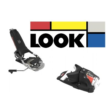 LOOK - PIVOT 12 GW  - B75 - BLACK/ICON
